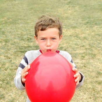 La técnica del globo para calmar a niños