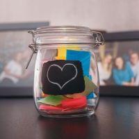 El frasco de la felicidad para desarrollar pensamiento positivo en los niños