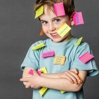 La técnica del post-it para generar pensamiento positivo en los niños