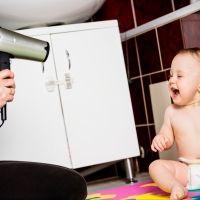 El truco del secador para dormir a los niños