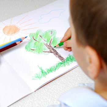 El test del árbol para conocer la personalidad del niño