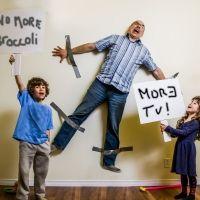 Cómo afrontar una pelea familiar con los niños