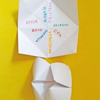 El fabuloso juego del comecocos para saber cómo se sienten nuestros hijos