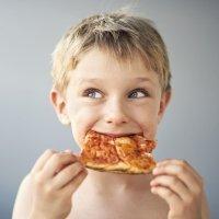 El árbol de las pizzas de los niños