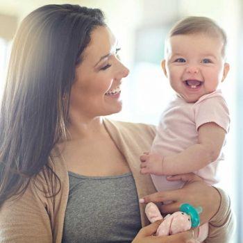 Los hijos de madres tardías son más sanos