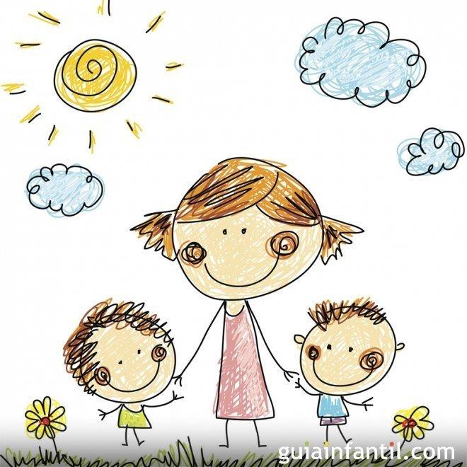Dibujos para colorear por el Día de la Madre