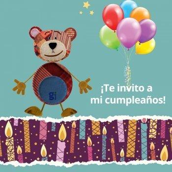 Invitaciones de cumpleaños de Traposo