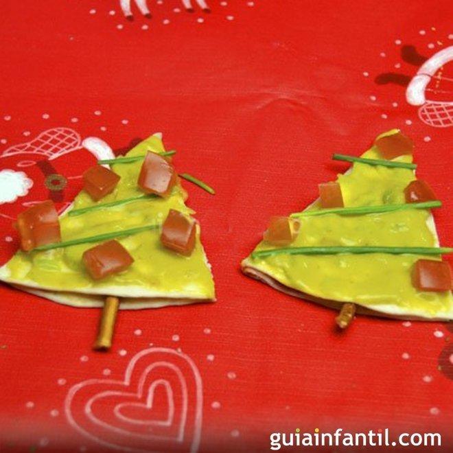 Canapés caseros variados y fáciles para Navidad