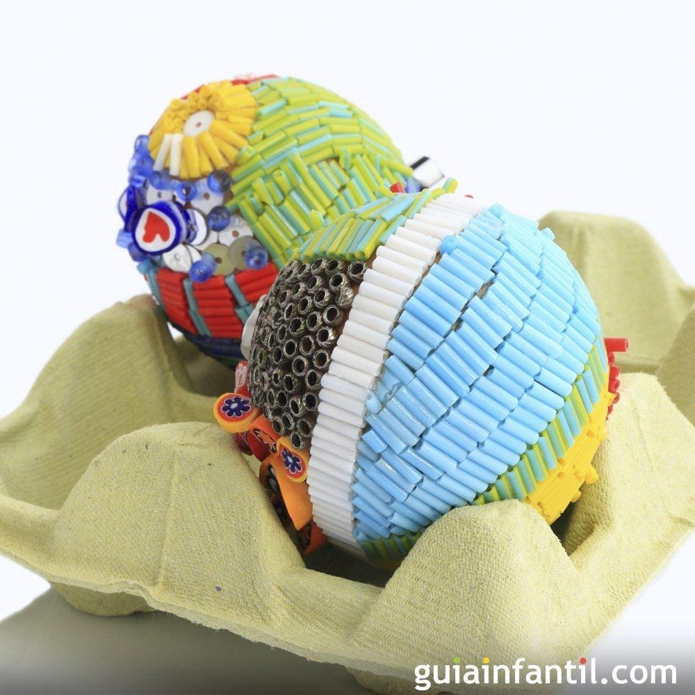 9 manualidades con cajas de huevos para hacer con niños