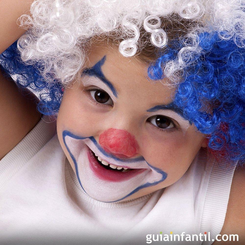 Ideas de maquillaje de payaso para los niños