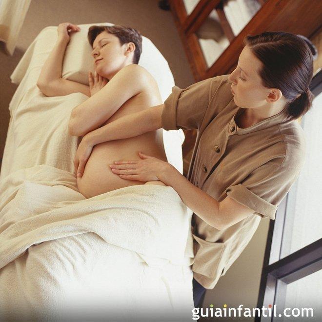 Masaje para embarazadas paso a paso
