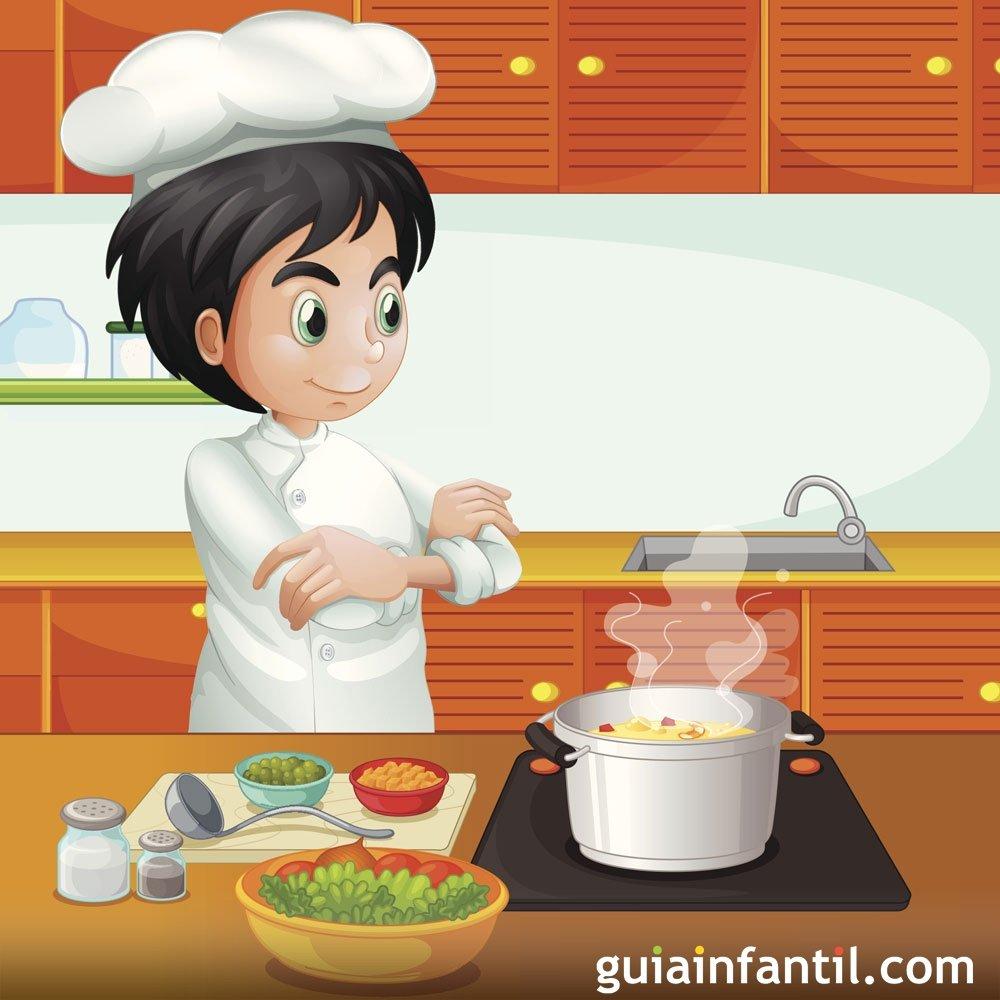 Dibujos para colorear de la cocina - Imagenes de cocinas para imprimir ...