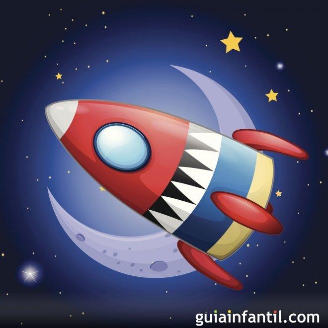 Dibujos para colorear del espacio y el universo - Dibujos infantiles del espacio ...
