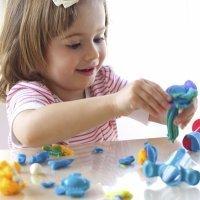 Animales del mar de plastilina. Manualidades para niños
