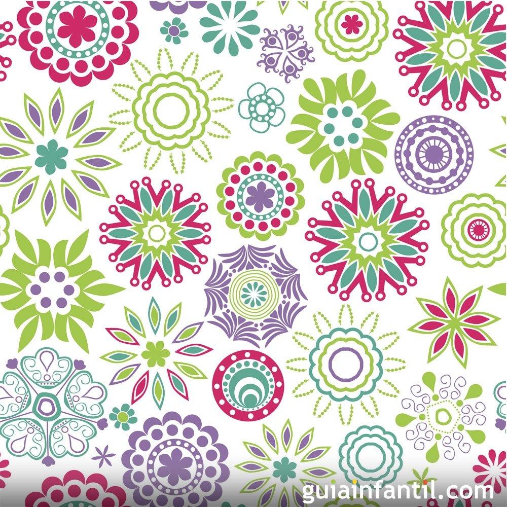 Mandalas Para Imprimir Y Colorear Con Los Ninos