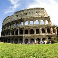 Viajar con los niños. Fotos de Roma