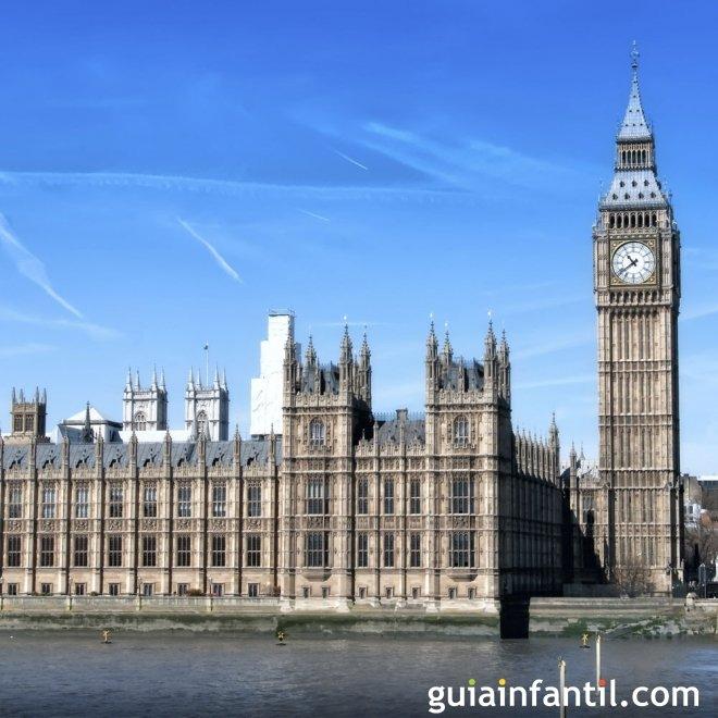 Viajar con los niños. Fotos de Londres
