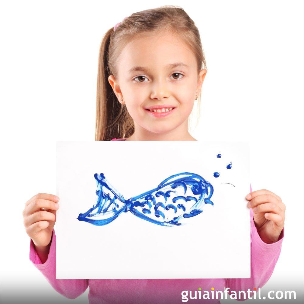 Dibujos de animales marinos para colorear con los niños