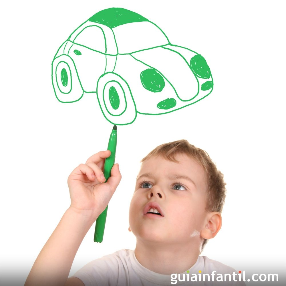 Dibujos de medios de transporte para pintar con los niños