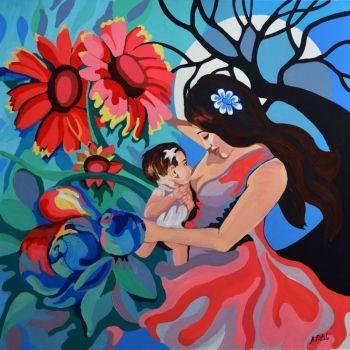 La lactancia materna en el arte. El arte de amamantar a los bebés
