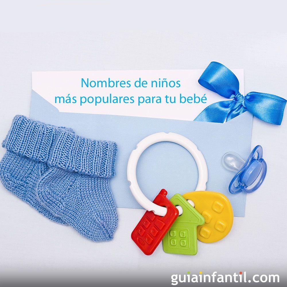 Nombres de niños más populares para tu bebé