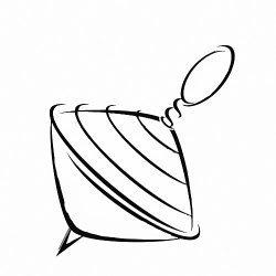 La peonza / el trompo