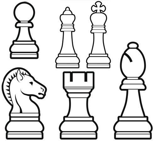 Adivinanza: El rey y la reina con ocho peones