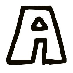 La letra A