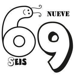 El seis y el nueve o el sesenta y nueve