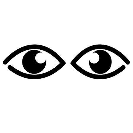 Adivinanza dos ni as asomaditas - Maneras de pintar los ojos ...