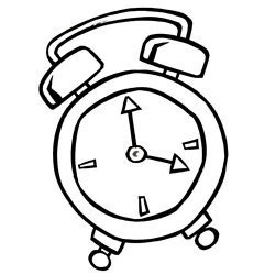 Las agujas del reloj
