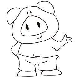 La bellota y el cerdo