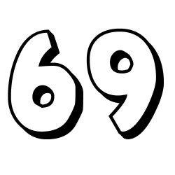 El sesenta y nueve