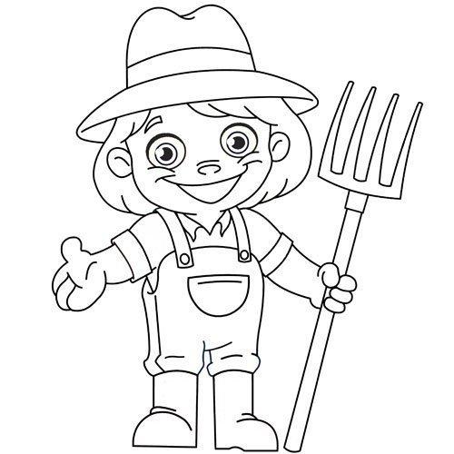 Adivinanza: Preparo el terreno y la semilla siembro