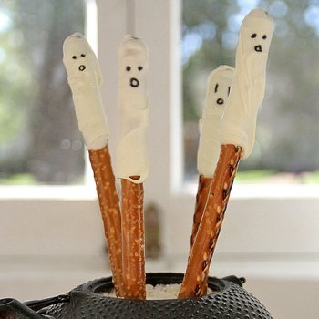 Fantasmas salados para aperitivo