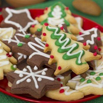 Galletas de navidad con margarina