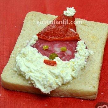 Sandwich de Papá Noel