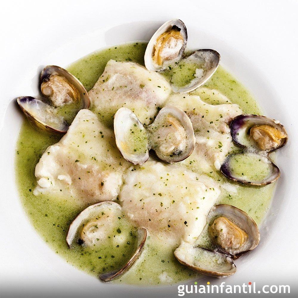 merluza en salsa verde receta de pescado para ni os
