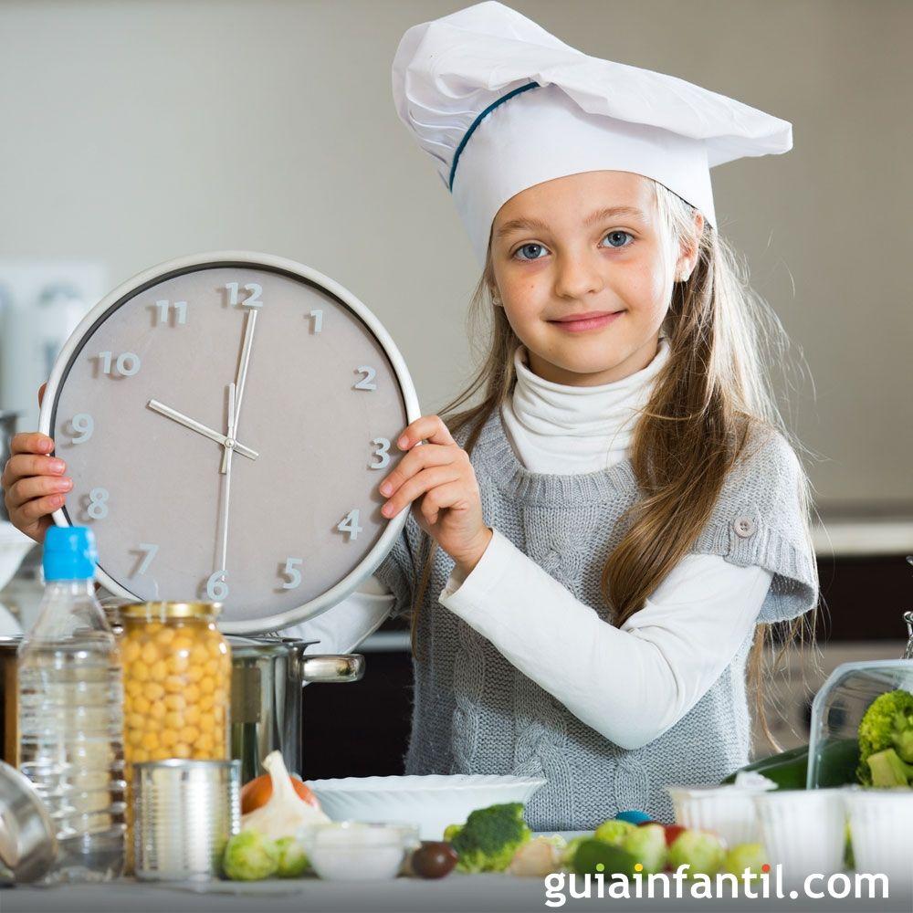 Recetas r pidas para preparar en 10 minutos a los ni os for Cocinar en 10 minutos