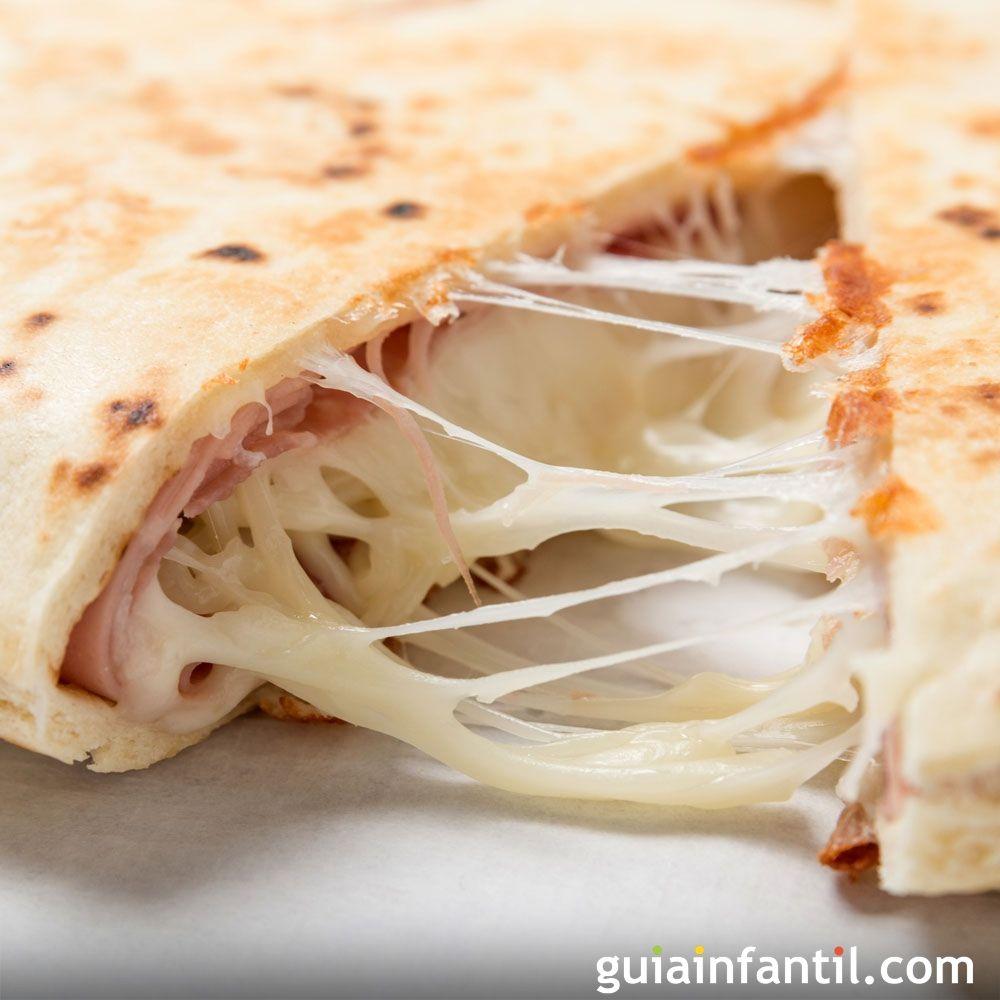 Quesadillas de jam n y queso comida mexicana para ni os for Comidas rapidas para ninos