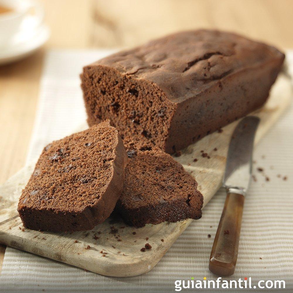 bizcocho de chocolate con margarina para ni os
