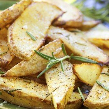 Patatas al romero en el horno