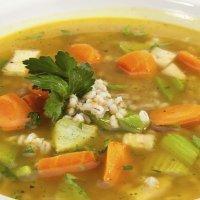 Receta de sopa minestrone para niños