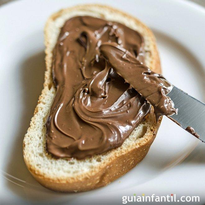 Receta de crema de cacao. Nocilla o nutella casera