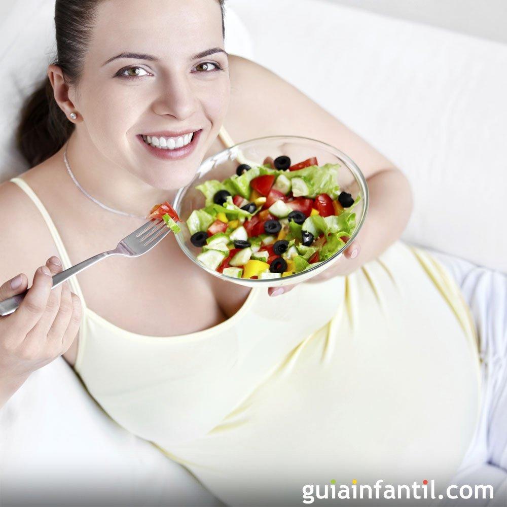 primeros platos ligeros cenas para embarazadas