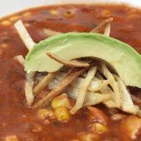 Sopa de tortilla mexicana. Recetas para niños
