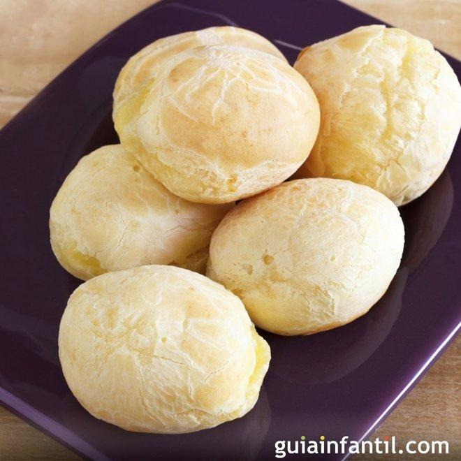 Chipá de queso. Recetas típicas Argentinas