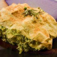 Lasaña de brócoli. Receta fácil y nutritiva