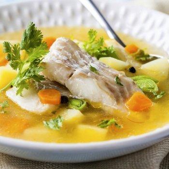 Possusalda o sopa con bacalao