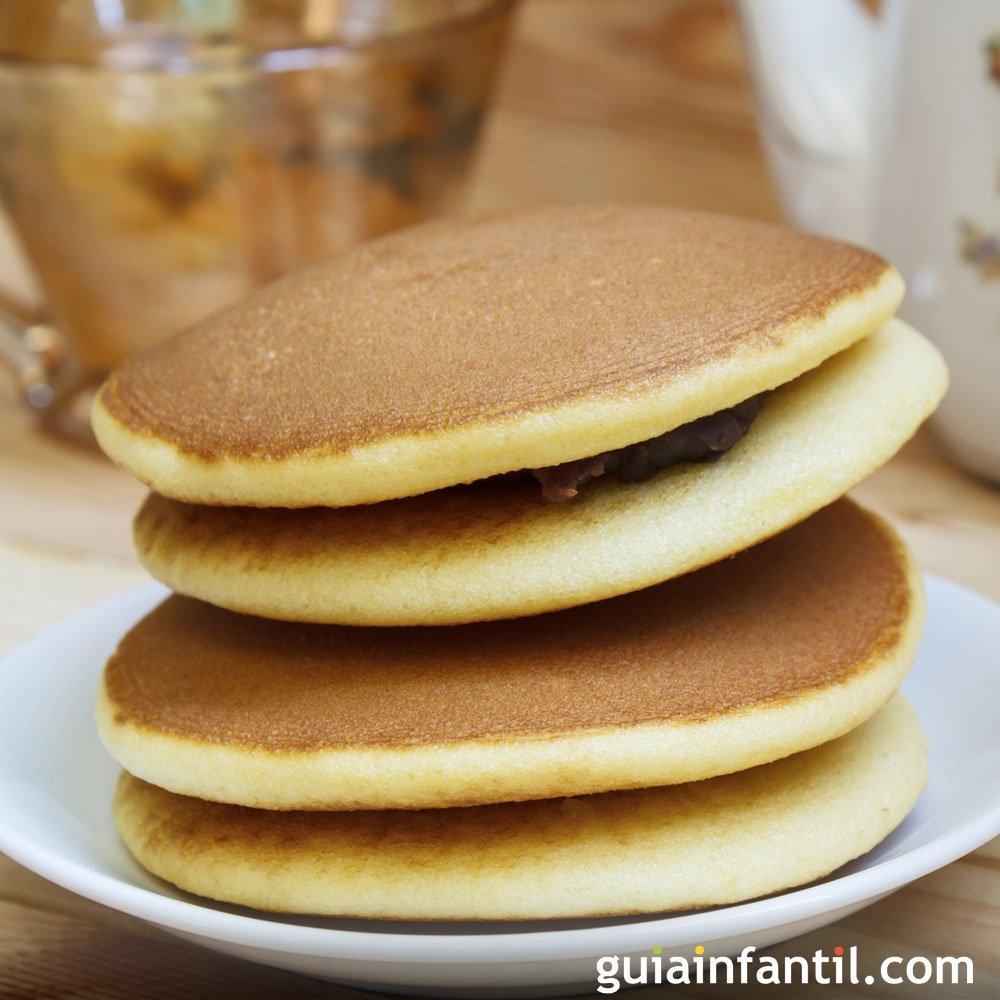 Dorayakis para el desayuno de los ni os - Cocina facil para ninos ...